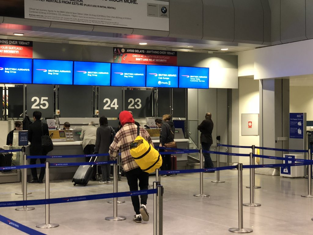 British Airways Club Europe Review
