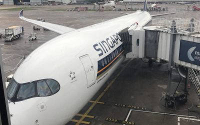 Trip Report: Singapore Airlines A350 Business Class Manchester to Singapore