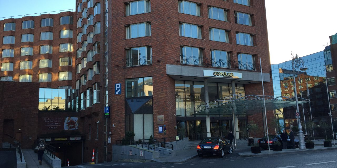 Hotel Review: One Bedroom Suite at the Conrad Hotel Dublin